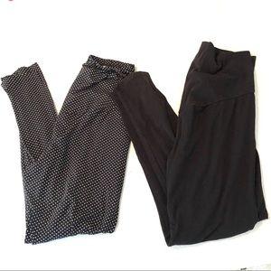 Pants - Bundle of maternity leggings
